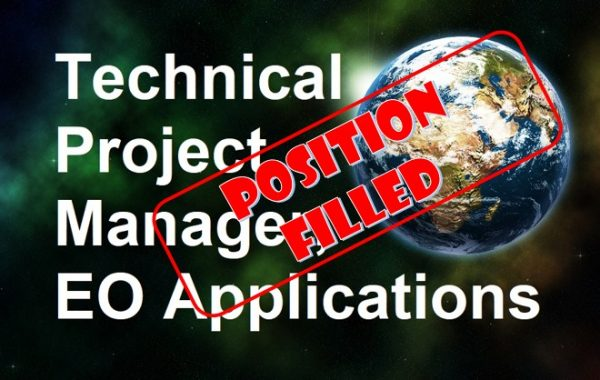 Technical Project Manager, EO Applications