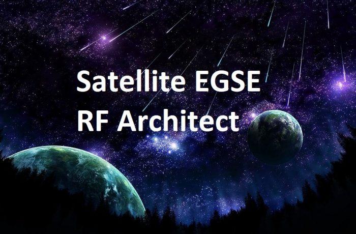 Satellite EGSE RF Architect