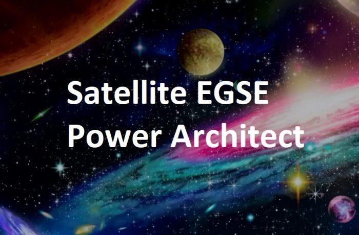 Satellite EGSE Power Architect