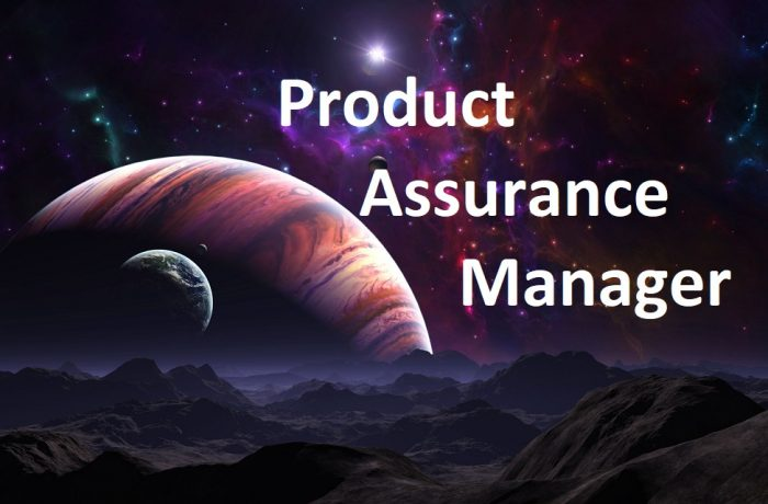 Product Assurance Manager
