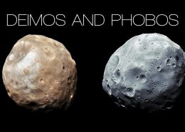 Moons of Mars Phobos & Deimos