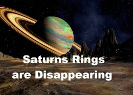 Rings of Saturn Disappearing