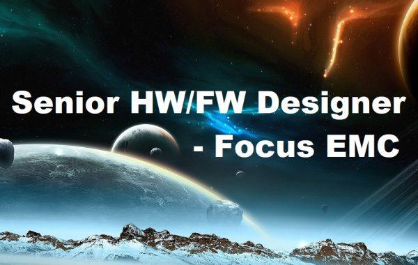 Senior HW/FW Designer (focus EMC)