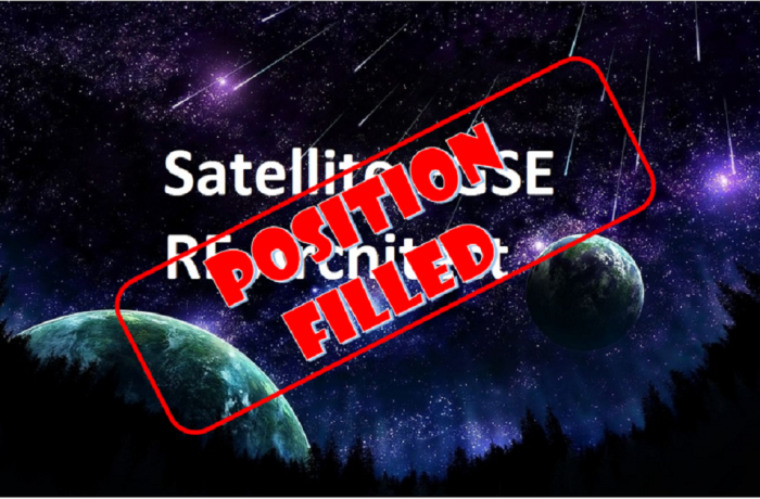 Satellite EGSE RF Architect