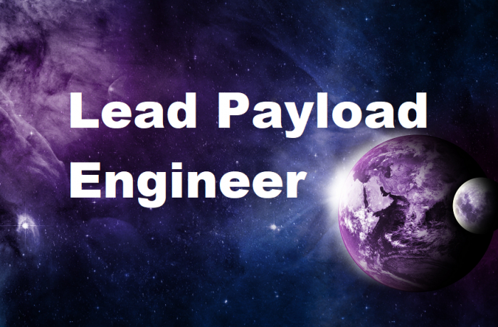 Lead Payload Engineer