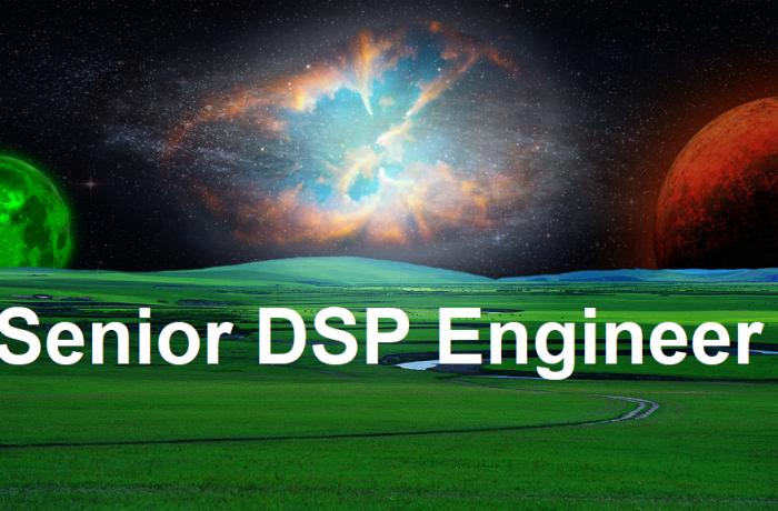 Senior Digital Signal Processing (DSP) Engineer